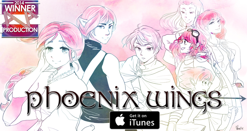 phoenix wings series promotional art